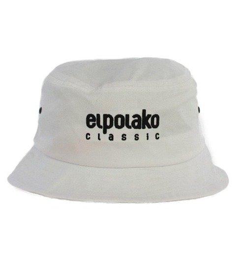 El Polako-Classic Bucket Hat Biały