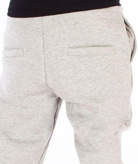 El Polako-Classic Cut Fit Spodnie Dresowe Szare