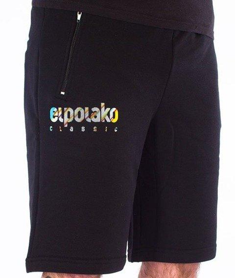 El Polako-Classic Line Krótkie Dresowe Czarne