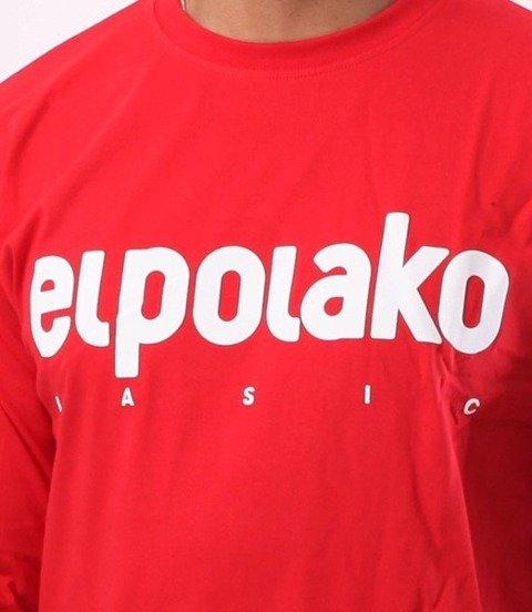 El Polako-Classic Longsleeve Czerwony