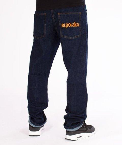 El Polako-Classic Slim Jeans Spodnie Dark