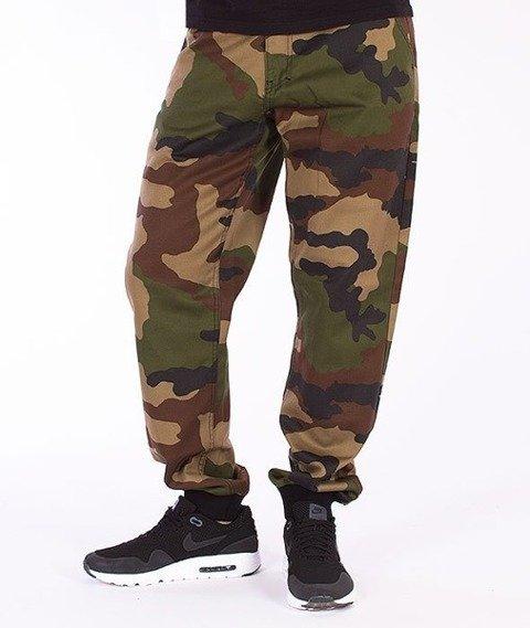 El Polako-Classic Slim Jogger Jeans Moro
