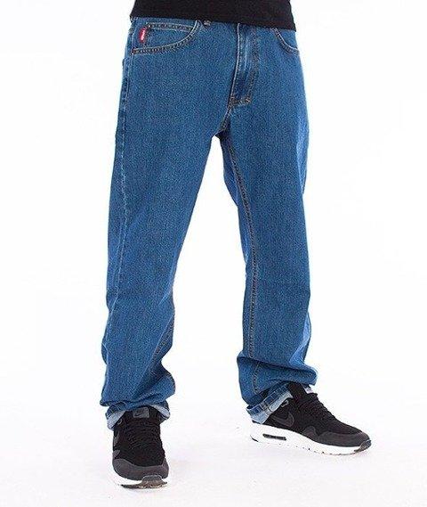 El Polako-Classic Slim Spodnie Jeans Jasne Spranie