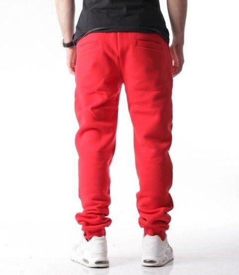 El Polako-Classic Spodnie Dresowe Fit Czerwony