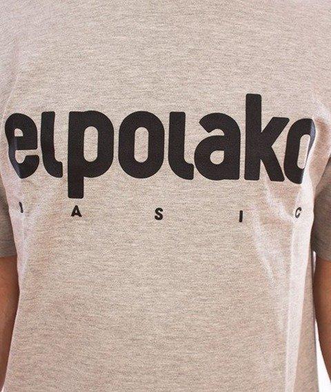 El Polako-Classic T-Shirt Szary