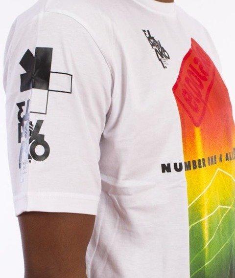 El Polako-Colorfull T-Shirt Biały