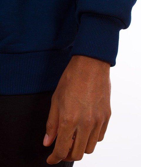 El Polako-Colors Cut Bluza Granat/Biała