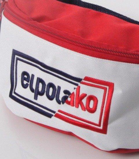 El Polako-Cut Colors Nerka Granatowo Czerwona