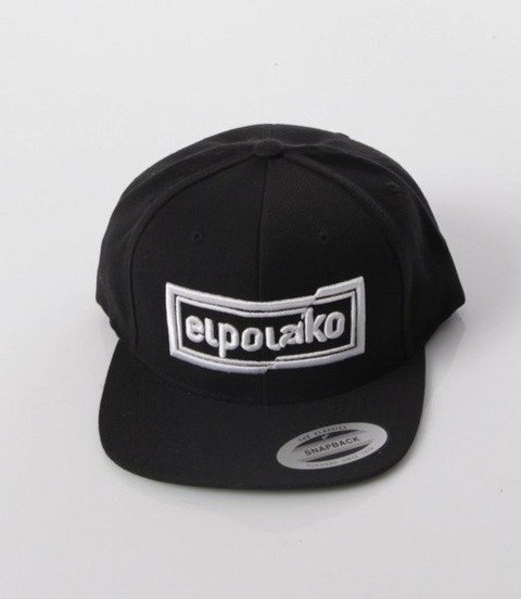 El Polako-Cut Colors Snapback Czarny
