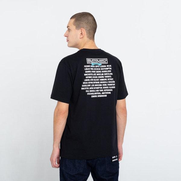 El Polako DUMNI INTERNATIONAL T-Shirt Czarny