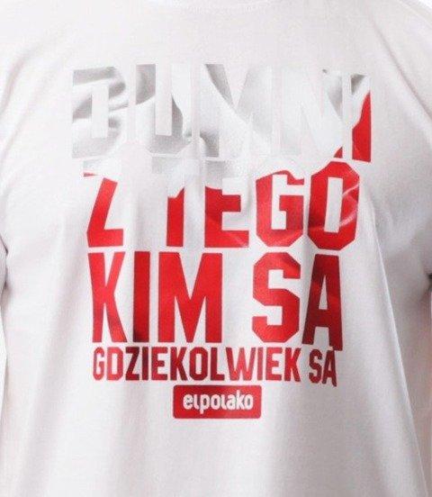 El Polako-Dumni PL T-Shirt Biały