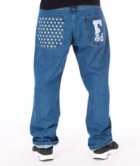El Polako-E Regular Jeans Spodnie Light Blue