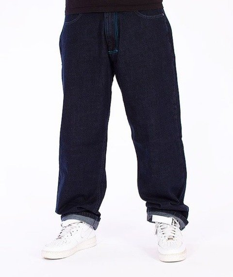 El Polako-ELPK Baggy Jeans Dark Blue
