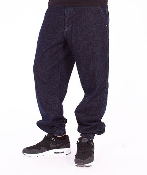 El Polako-ELPK Regular Jogger Jeans Dark Blue