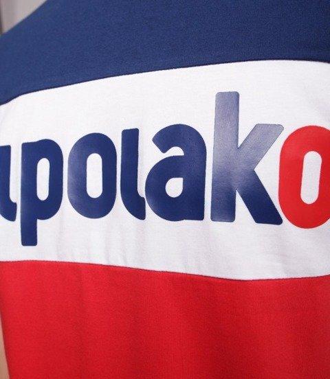 El Polako ELPO NEW T-Shirt Granatowy/ Czerwony