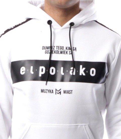 El Polako-EP Belt Bluza Kaptur Biały