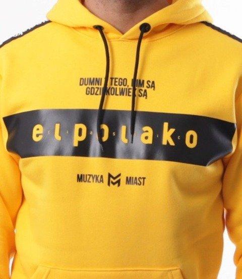 El Polako-EP Belt Bluza Kaptur Żółty