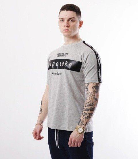 El Polako-EP Belt T-Shirt Szary