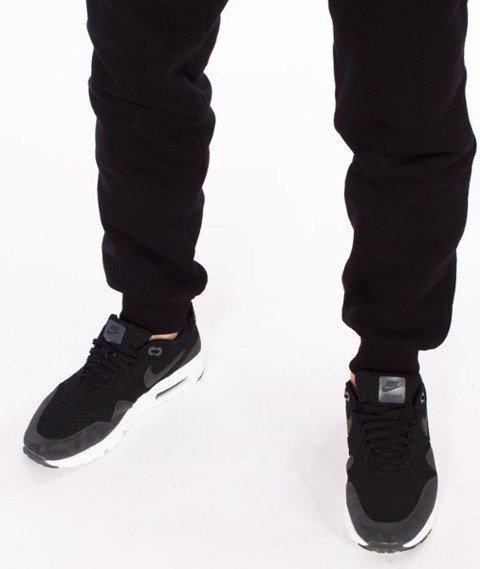 El Polako-EP_Paint Cut Fit Spodnie Dresowe Czarne