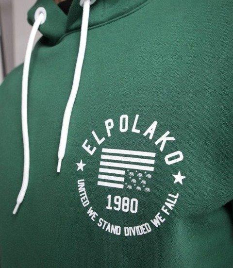 El Polako El Polako 1980 Bluza z Kapturem Zielony