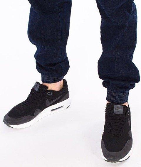 El Polako-ElPolako Republic Jogger Slim z Gumą Spodnie Dark Blue