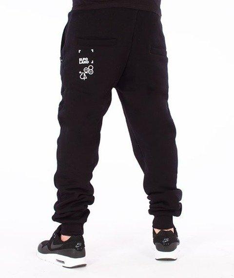 El Polako-Ep Classic Line Fit Spodnie Dresowe Czarne