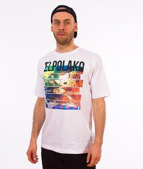 El Polako-Gramofon T-Shirt Biały