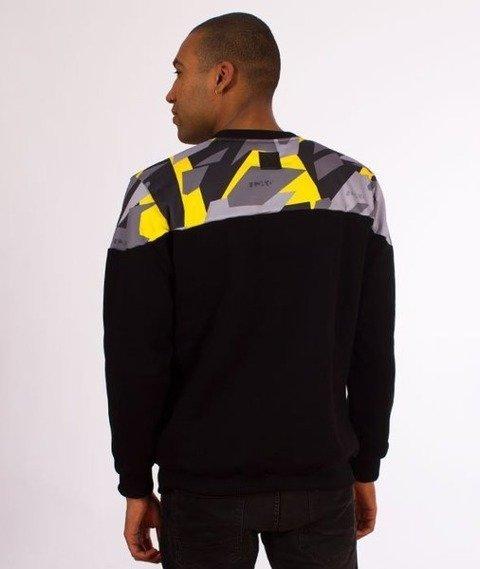 El Polako-Half Crewneck Bluza Triangle Camo Yellow