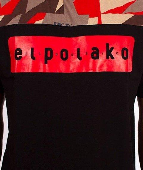 El Polako-Half Triangle Moro T-Shirt Red