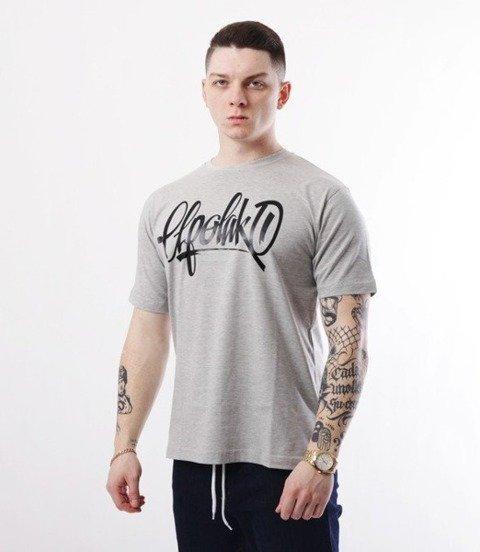 El Polako-Handmade T-Shirt Jasno Szary