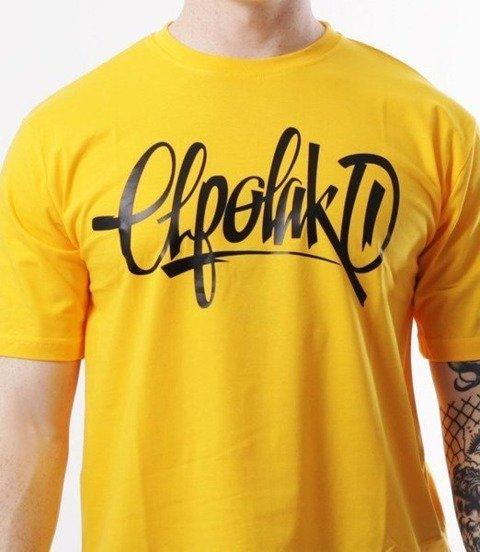 El Polako-Handmade T-Shirt Żółty