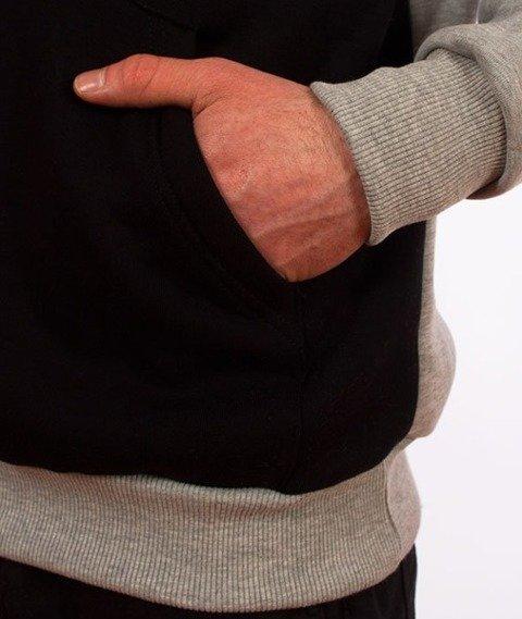 El Polako-Kangurka Classic Style Bluza Kaptur Szary