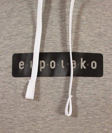 El Polako-Kangurka Pro Bluza Kaptur Szara