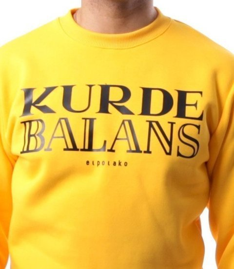 El Polako-Kurde Balans Bluza Żółty