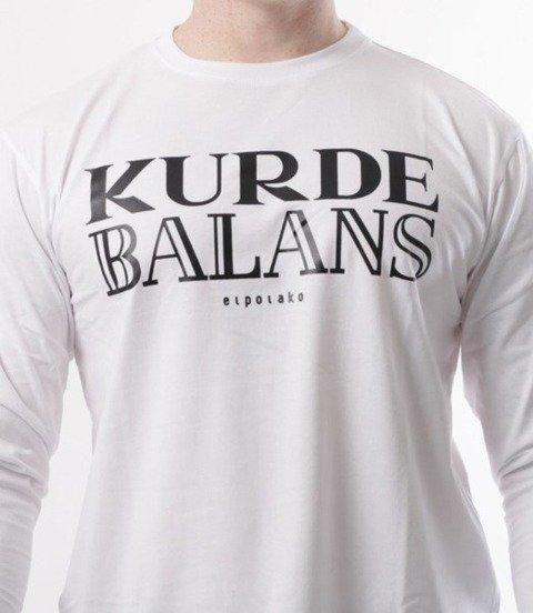 El Polako-Kurde Balans Longsleeve Biały