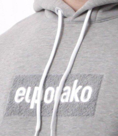 El Polako-LOGOBOX Bluza Kaptur Szara