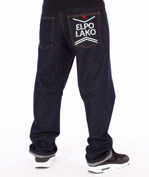 El Polako-Line EP Regular Jeans Spodnie Dark Blue