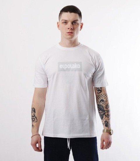 El Polako-Logobox T-Shirt Biały