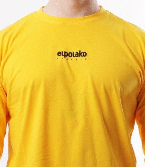 El Polako-Mini Logo Longsleeve Żółty