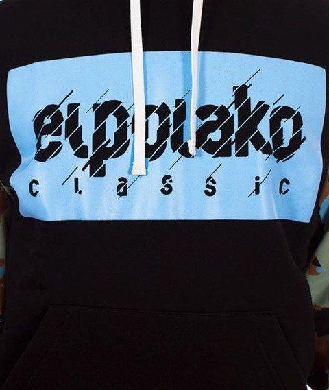 El Polako-Moro Rękaw 08 Bluza Kaptur Czarna