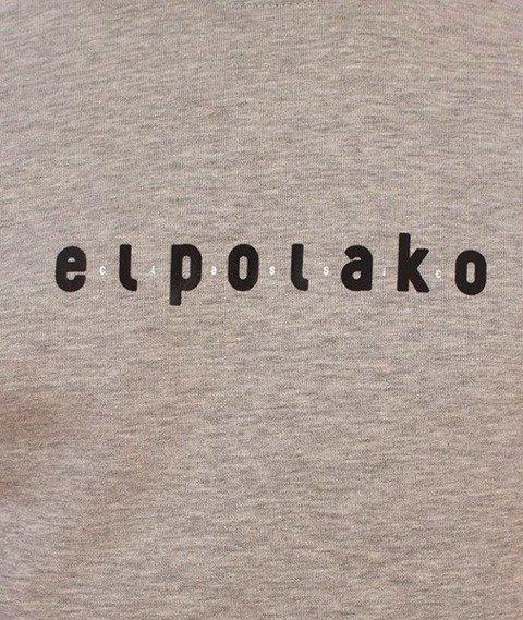 El Polako-Music Revolition Bluza Szara