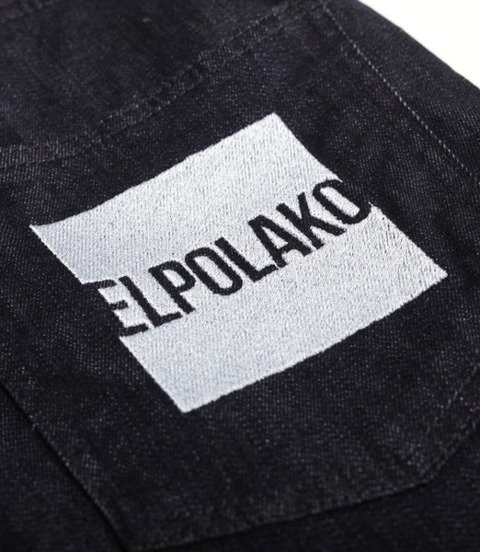 El Polako-New Box Szorty Jeans Dark