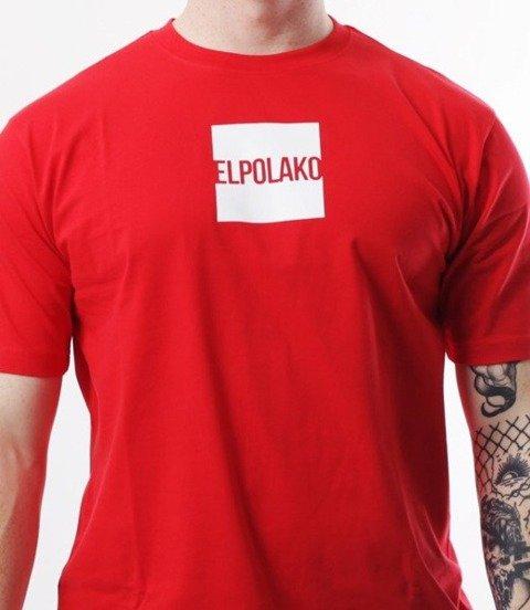 El Polako-New Box T-Shirt Czerwony