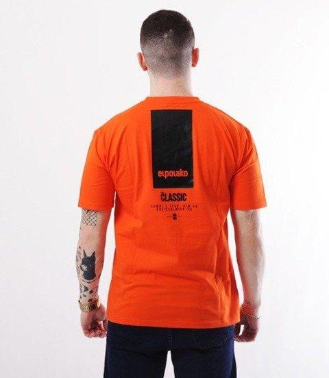 El Polako-New Box T-Shirt Pomarańczowy