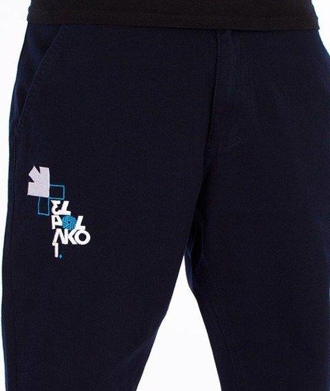 El Polako-Number Regular Jogger Spodnie Granatowe