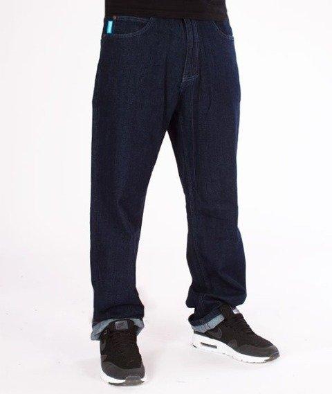 El Polako-Outline Regular Jeans Spodnie Dark