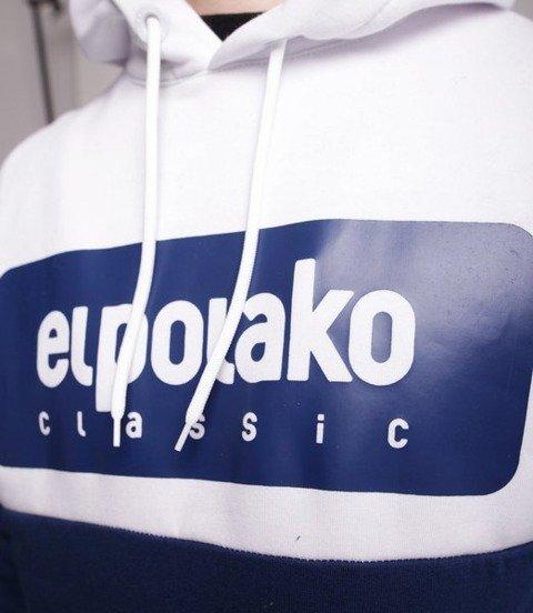 El Polako Plate Bluza z Kapturem Granatowy