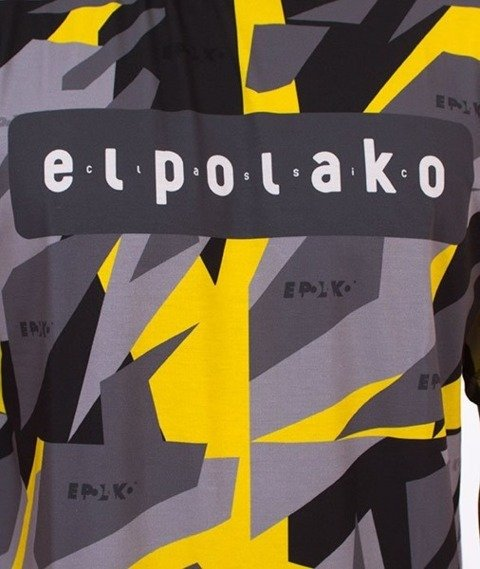 El Polako-Premium Yellow Triangle Moro T-Shirt