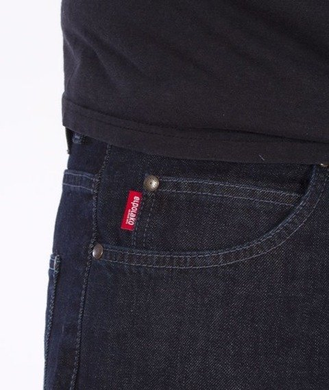 El Polako-RZPRDL Regular Jeans Dark Blue