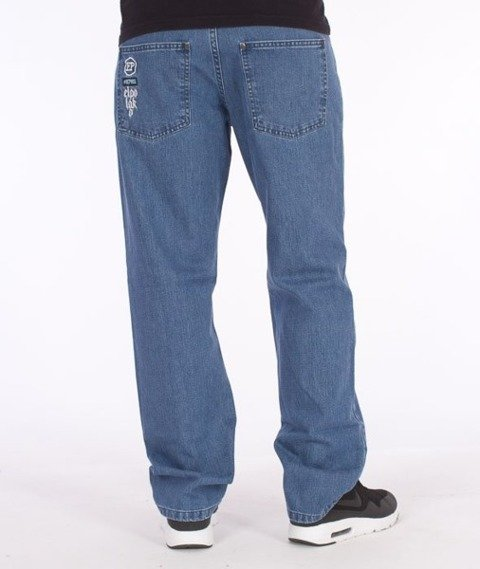 El Polako-RZPRDL Slim Spodnie Jeans Light Blue